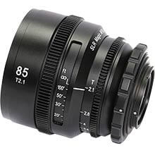 APO HyperPrime CINE APO85PL Lens with EF Adapter